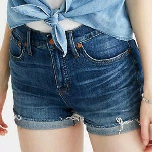 Madewell high waist shorts size 25